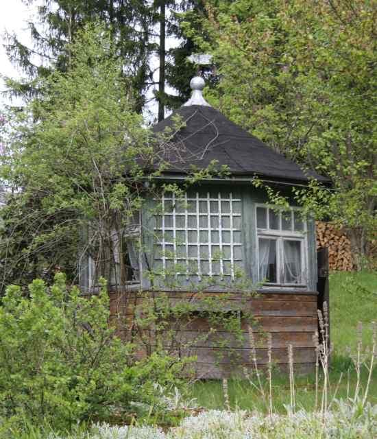 Antike Baustoffe pavillon um 1900