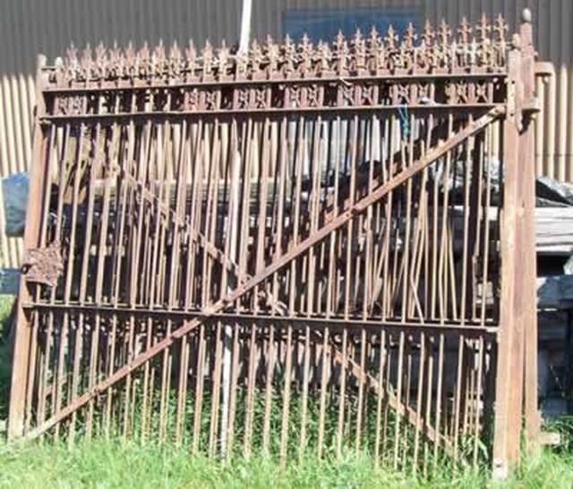 Metall - Zaun schmiedeeisen ...
